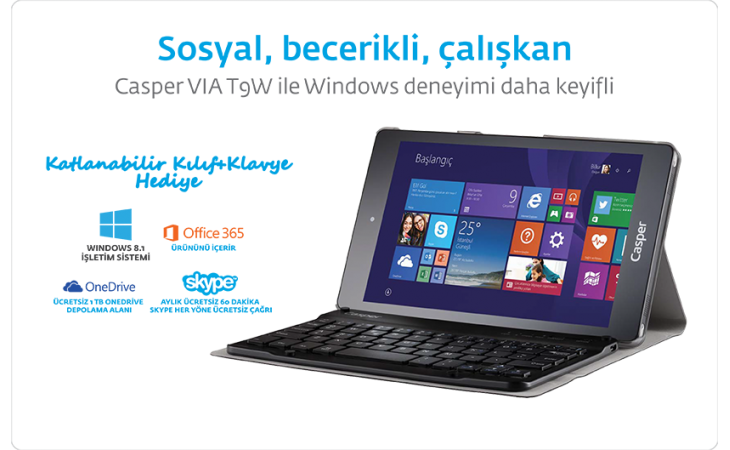 casper tablet t9w